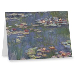 Water Lilies by Claude Monet Note cards