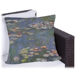 Water Lilies by Claude Monet Outdoor Pillow