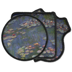 Water Lilies by Claude Monet Iron on Patches