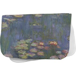 Water Lilies by Claude Monet Burp Cloth