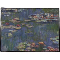 Water Lilies by Claude Monet Door Mat