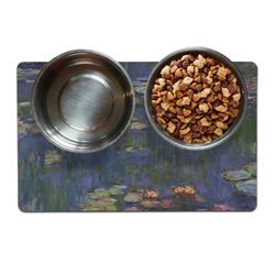 Water Lilies by Claude Monet Dog Food Mat