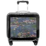 Water Lilies by Claude Monet Pilot / Flight Suitcase