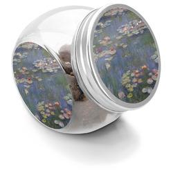 Water Lilies by Claude Monet Puppy Treat Jar