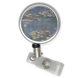 Water Lilies by Claude Monet Retractable Badge Reel
