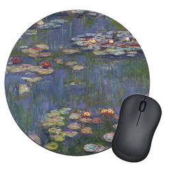 Water Lilies by Claude Monet Round Mouse Pad