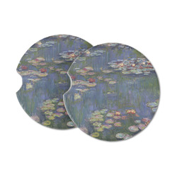 Water Lilies by Claude Monet Sandstone Car Coasters