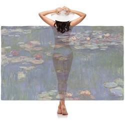 Water Lilies by Claude Monet Sheer Sarong