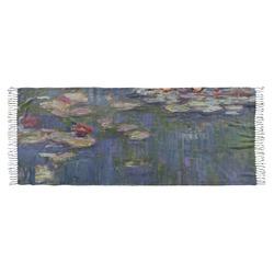 Water Lilies by Claude Monet Faux Pashmina Shawl