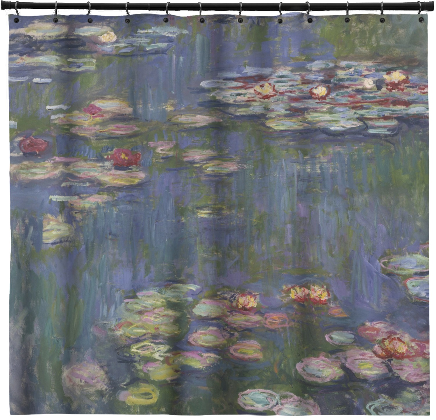 Water Lilies by Claude Monet Shower Curtain - YouCustomizeIt