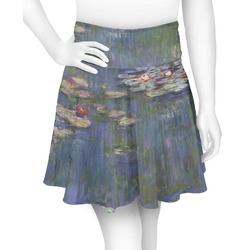 Water Lilies by Claude Monet Skater Skirt