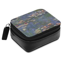Water Lilies by Claude Monet Small Leatherette Travel Pill Case