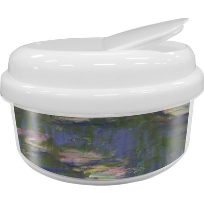 Water Lilies by Claude Monet Snack Container