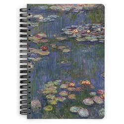 Water Lilies by Claude Monet Spiral Bound Notebook
