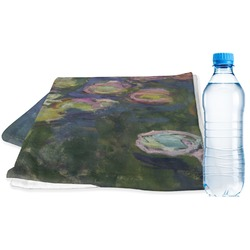 Water Lilies by Claude Monet Sports Towel