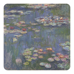 Water Lilies by Claude Monet Square Decal - Custom Size