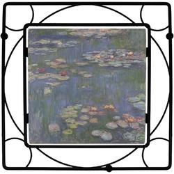 Water Lilies by Claude Monet Square Trivet