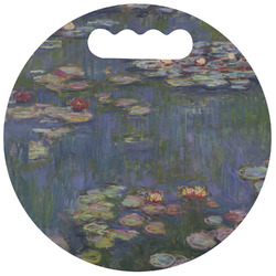 Water Lilies by Claude Monet Stadium Cushion (Round)