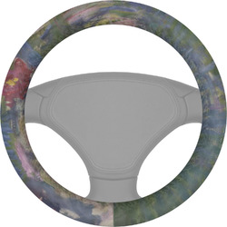 Water Lilies by Claude Monet Steering Wheel Cover