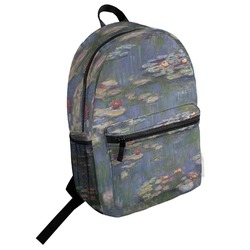 Water Lilies by Claude Monet Student Backpack