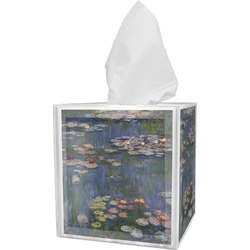 Water Lilies by Claude Monet Tissue Box Cover