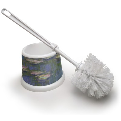 Water Lilies by Claude Monet Toilet Brush
