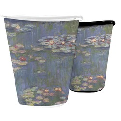 Water Lilies by Claude Monet Waste Basket