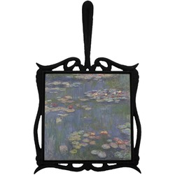 Water Lilies by Claude Monet Trivet with Handle