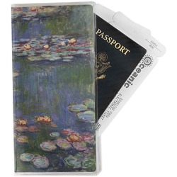 Water Lilies by Claude Monet Travel Document Holder