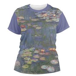 Water Lilies by Claude Monet Women's Crew T-Shirt