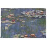 Water Lilies by Claude Monet Woven Mat