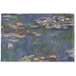 Water Lilies by Claude Monet Woven Mat