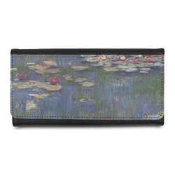 Water Lilies by Claude Monet Leatherette Ladies Wallet