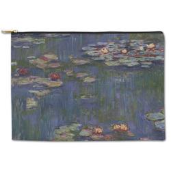 Water Lilies by Claude Monet Zipper Pouch