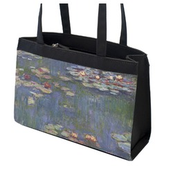 Water Lilies by Claude Monet Zippered Everyday Tote