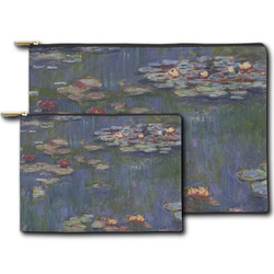 Water Lilies by Claude Monet Zipper Pouch