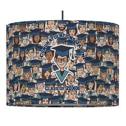 Graduating Students Drum Pendant Lamp (Personalized)