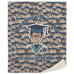 Graduating Students Sherpa Throw Blanket (Personalized)