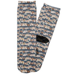 Graduating Students Adult Crew Socks (Personalized)