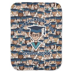 Graduating Students Baby Swaddling Blanket (Personalized)