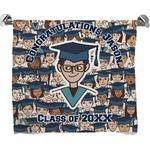 Graduating Students Full Print Bath Towel (Personalized)