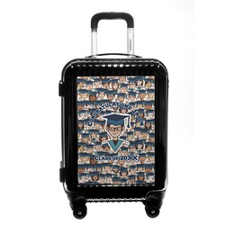 Graduating Students Carry On Hard Shell Suitcase (Personalized)