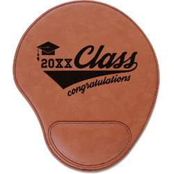 Graduating Students Leatherette Mouse Pad with Wrist Support (Personalized)