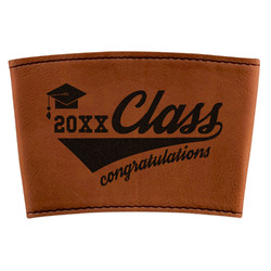 Graduating Students Leatherette Cup Sleeve (Personalized)