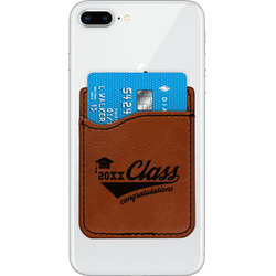 Graduating Students Leatherette Phone Wallet (Personalized)