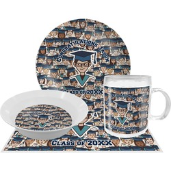 Graduating Students Dinner Set - 4 Pc (Personalized)