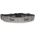 Graduating Students Deluxe Dog Collar (Personalized)