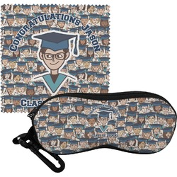 Graduating Students Eyeglass Case & Cloth (Personalized)