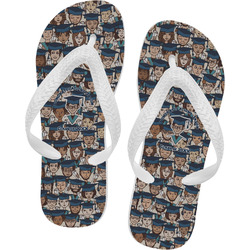 Graduating Students Flip Flops (Personalized)