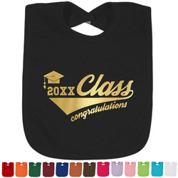 Graduating Students Foil Baby Bibs (Personalized)
